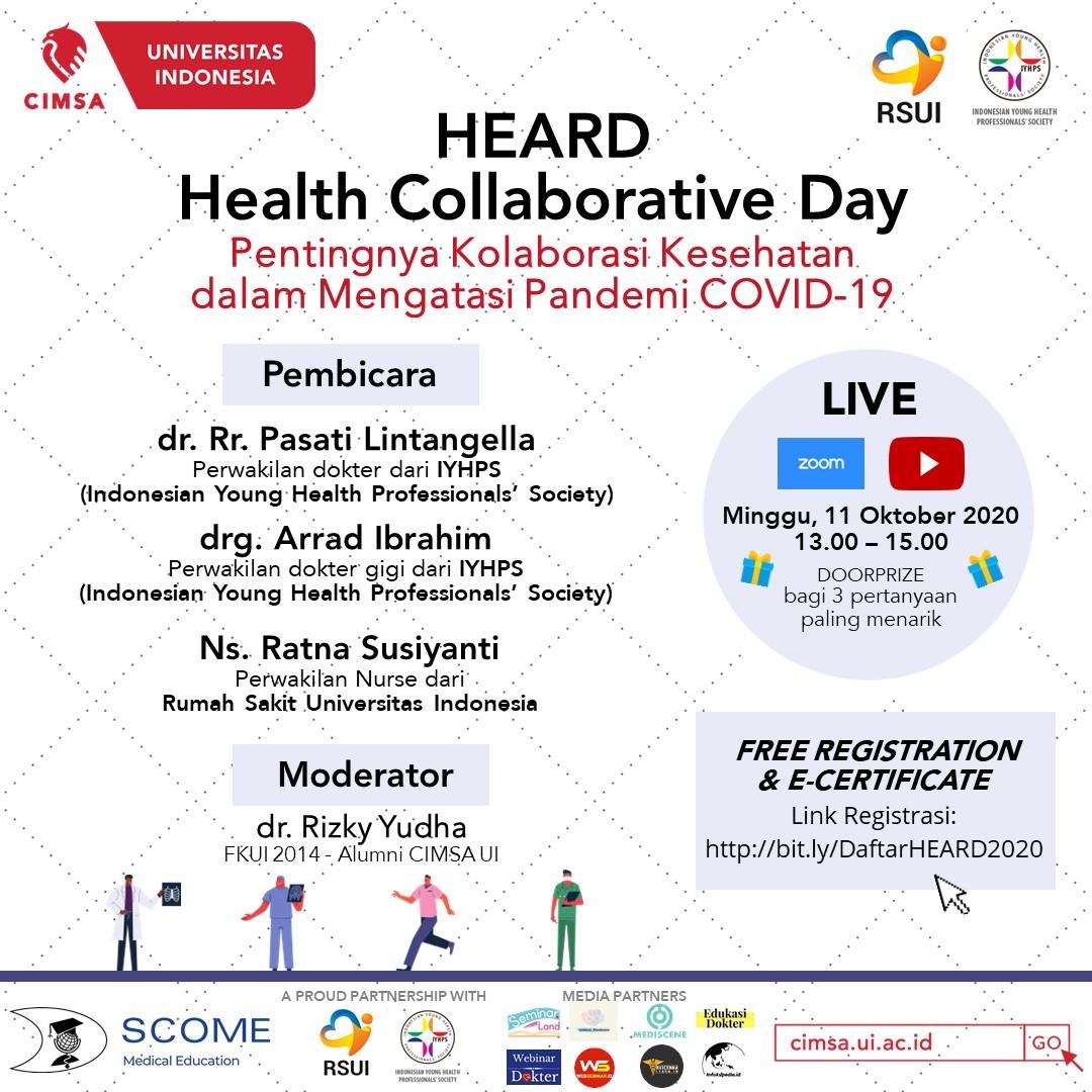 Heard Health Collaborative Day Seminar Dokter