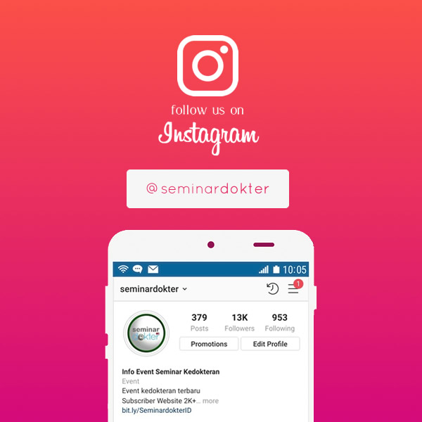 Follow Instagram Seminardokter